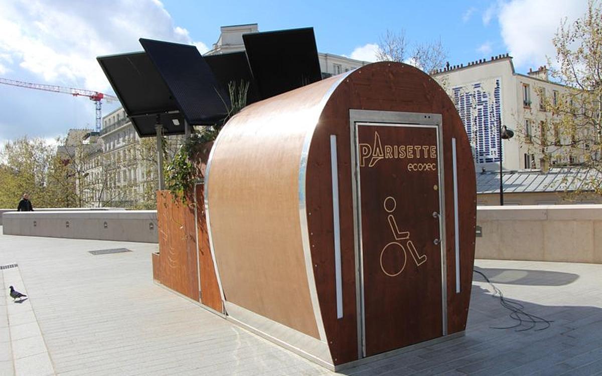 Les toilettes publiques à Paris - Ville de Paris