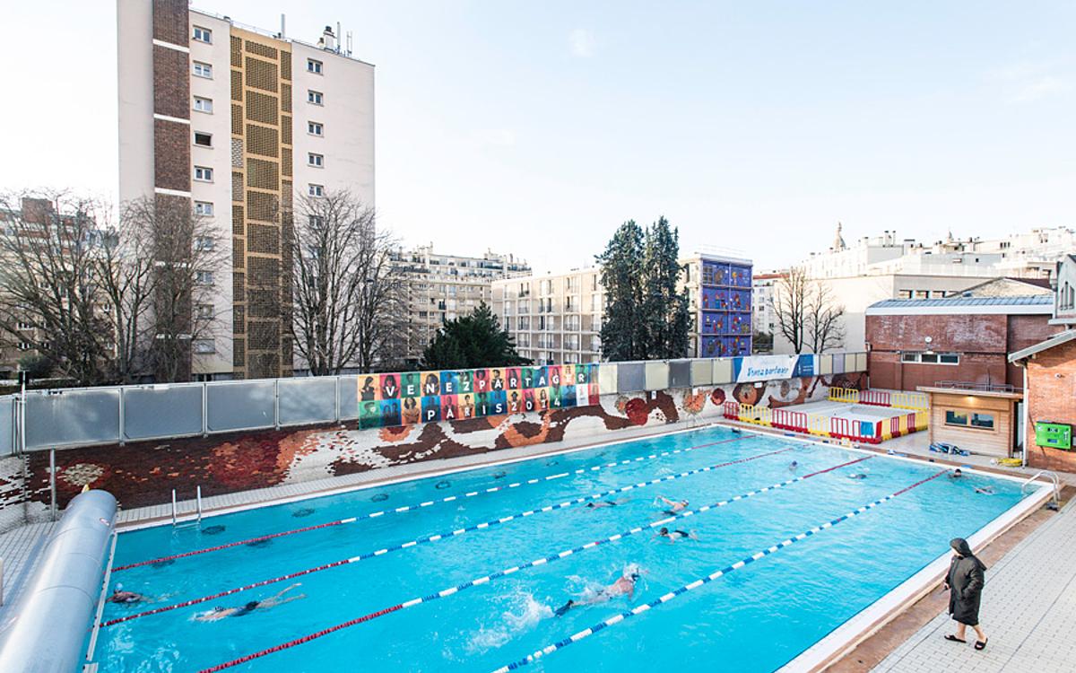 La Butte Aux Cailles Photos dans les coulisses de la piscine de la - ville de paris