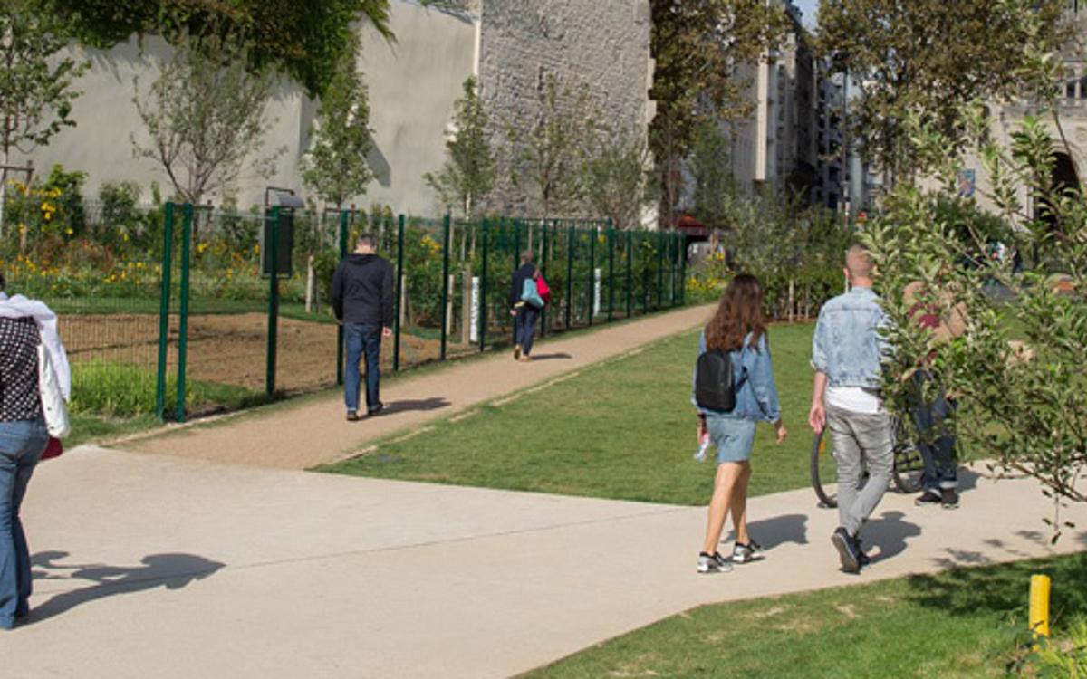Le jardin Truillot : un nouvel espace vert au cœur du ...