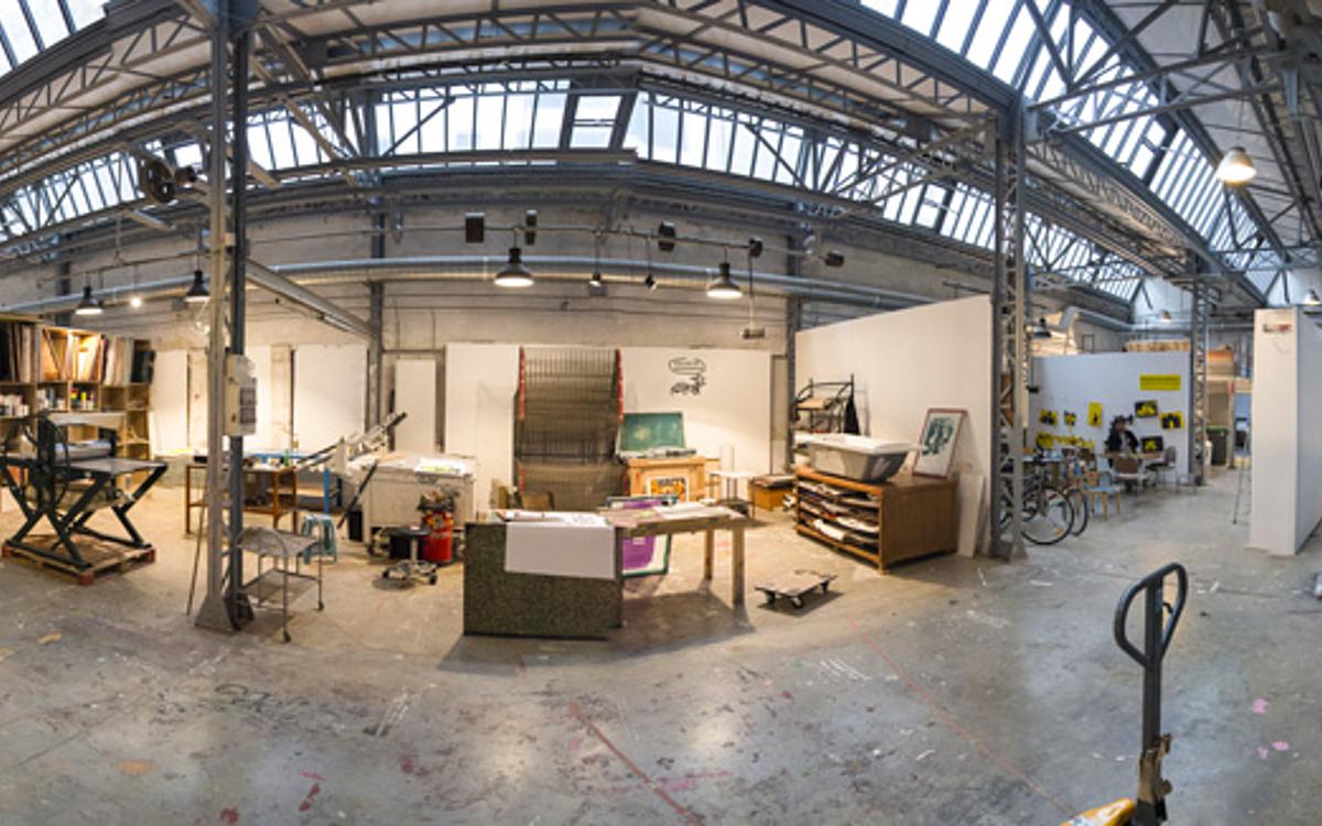 Chassis Atelier D Artiste la villa belleville accueille les artistes émergents - ville