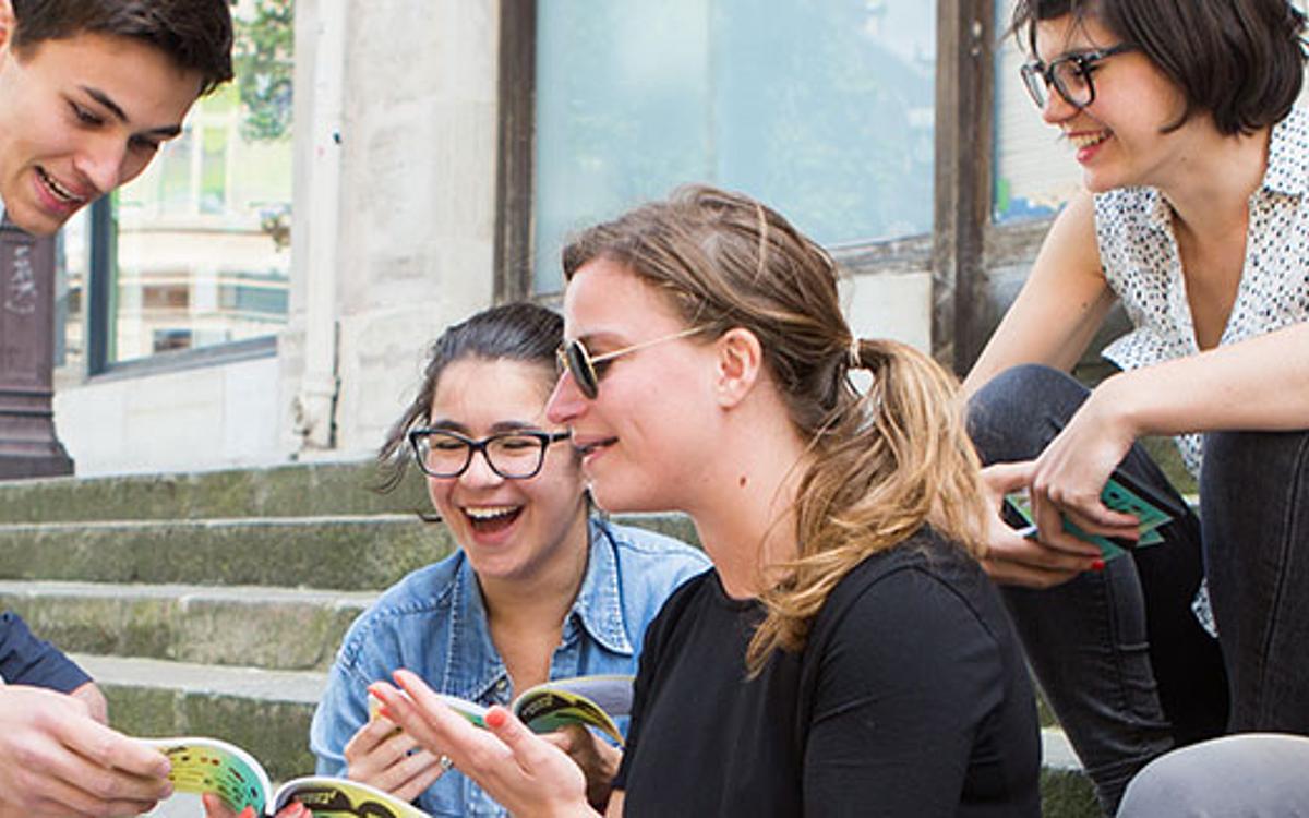 La Carte Jeunes Européenne Ville De Paris