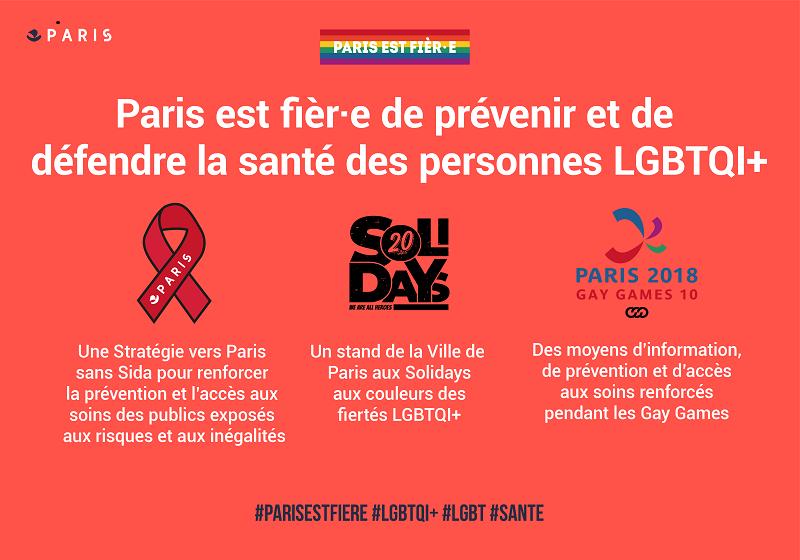 Paris, capitale des droits LGBTQI: Santé et Prévention