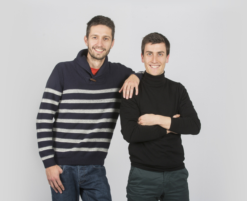 Fondateurs Travauxlib - Arnaud Kleinpeter (gauche) & Matthieu Burin