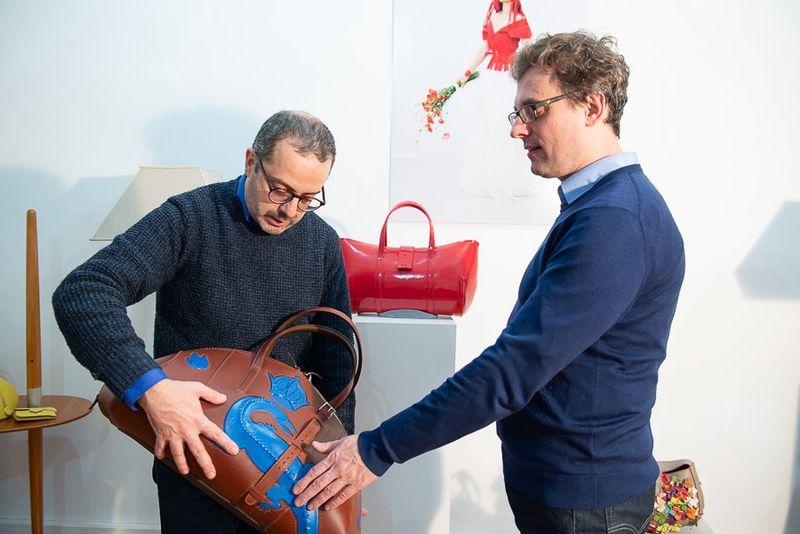 Rafik Mahiout et Luc Dognin, cofondateurs de Dognin