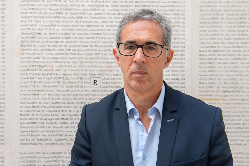 Jacques Fredj, directeur du Mémorial de la Shoah