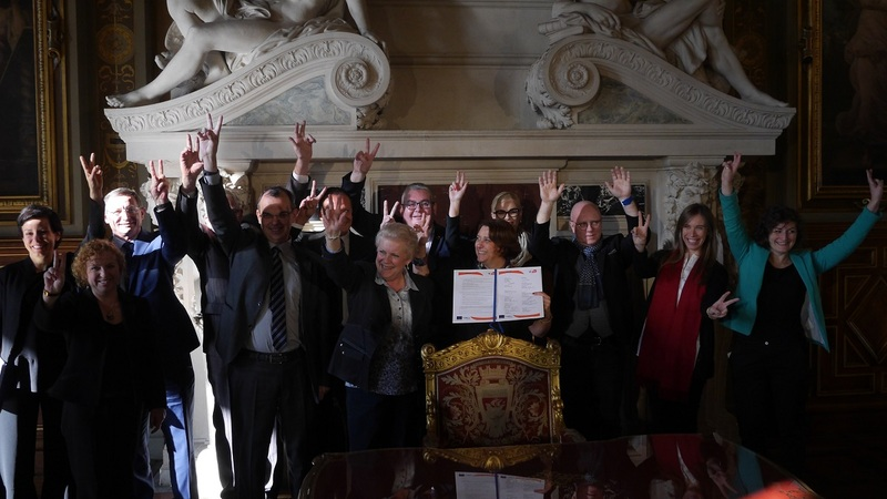 Signature charte URBACT