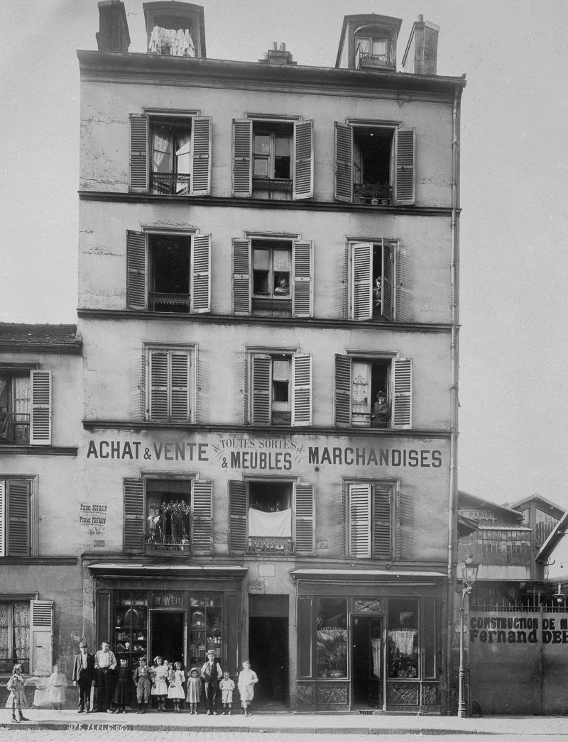 8, rue d'Oran. Paris (XVIIIème arr.). Union Photographique Française, 1906. Paris, musée Carnavalet.