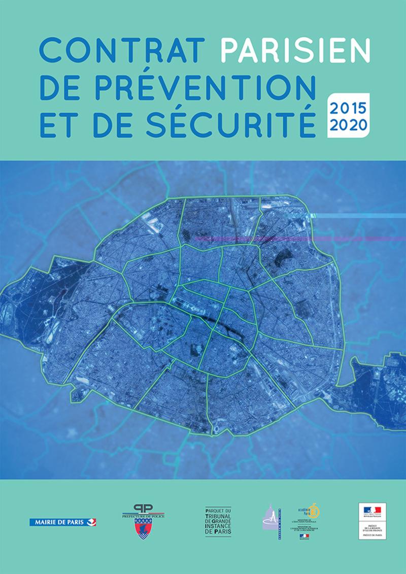 Visuel Contrat Parisien de Prévention et de sécurité_2015_2020