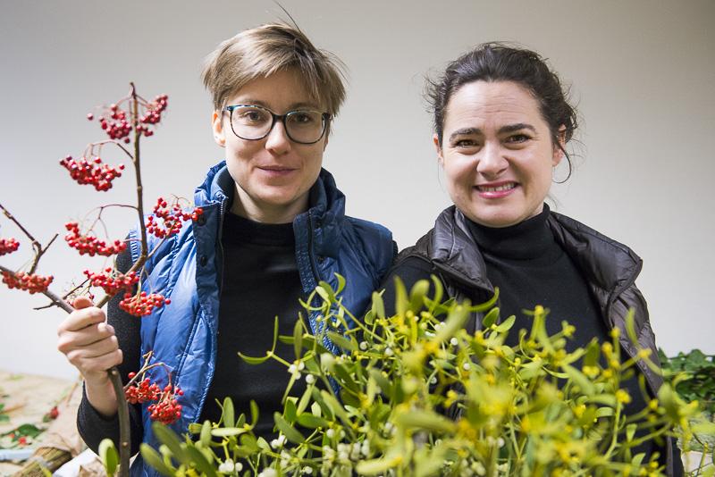 Chloé et Hortense de Fleurs d'Ici