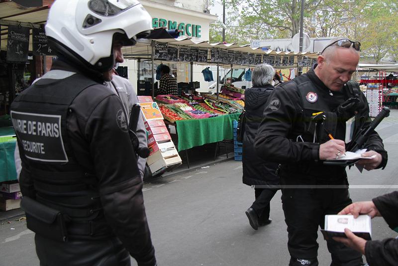 ISVP Unité motocycliste LCI marché