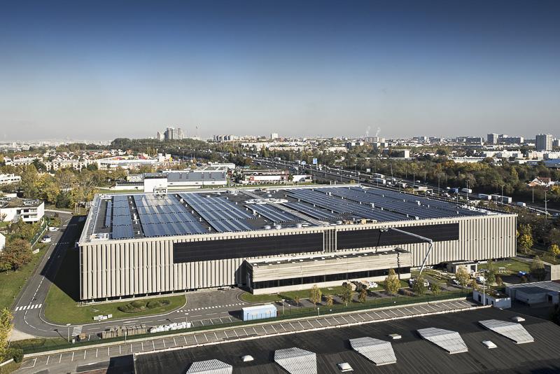 La plus grande toiture photovoltaïque d'Ile-de-France