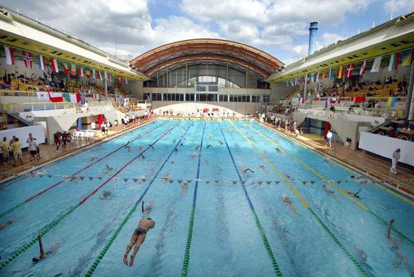 Aqua festival à la piscine Georges Vallerey