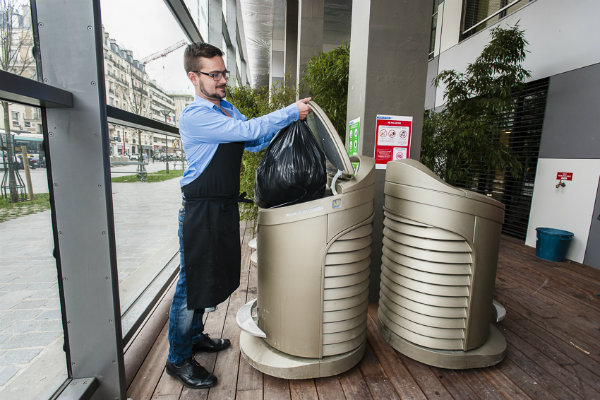 La collecte pneumatique- Clichy Batignolles 17e
