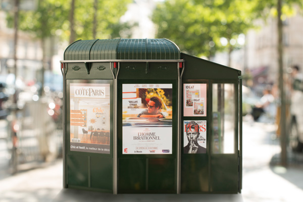 Nouveau kiosque Parisien