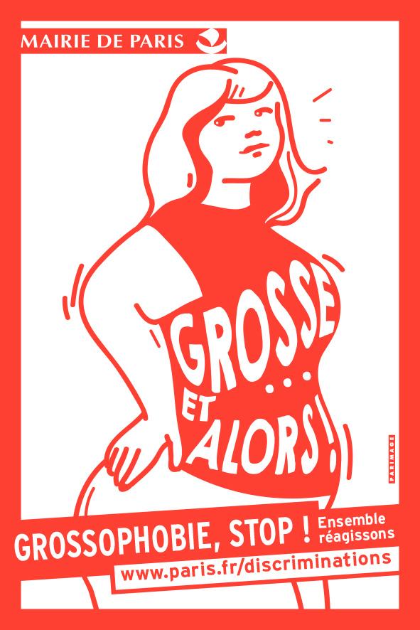 Grossophobie, stop! Ensemble réagissons