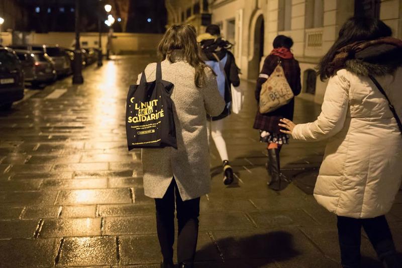 Nuit de la Solidarité: à la rencontre des participants