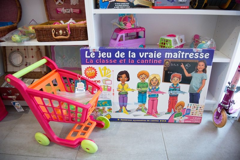 Boutique Rejoué, ressourcerie de jouets