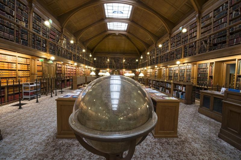 Découverte de la bibliothèque de l'Hôtel de Ville de Paris
