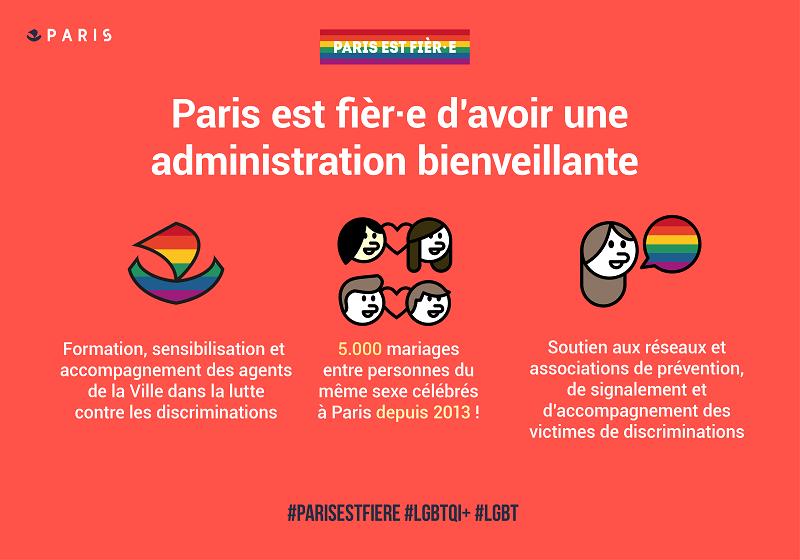 Paris, capitale des droits LGBTQI: Administration bienveillante