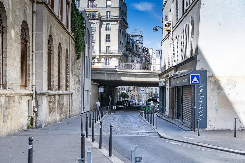 Rue Broca, site primé par le budget participatif