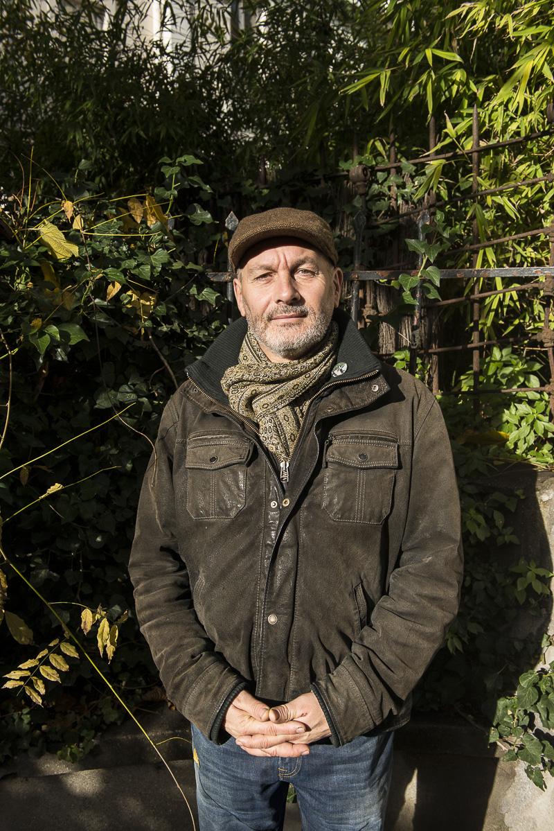 Portrait de Jacky libaud Goutte d'or, Guide