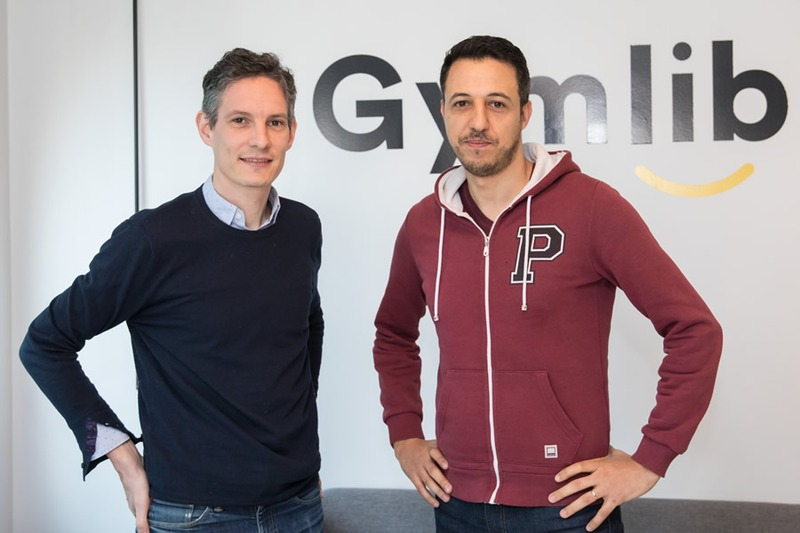 Sébastien Bequart et Mohamed Tazi co-fondateurs de la start-up Gymlib