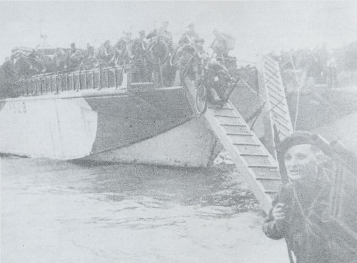 Débarquement des commandos français de Kieffer