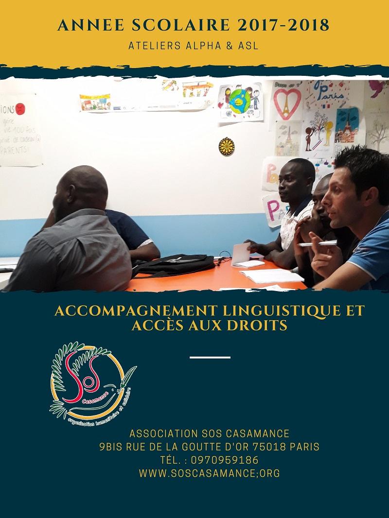 SOS Casamance  Goutte d'or