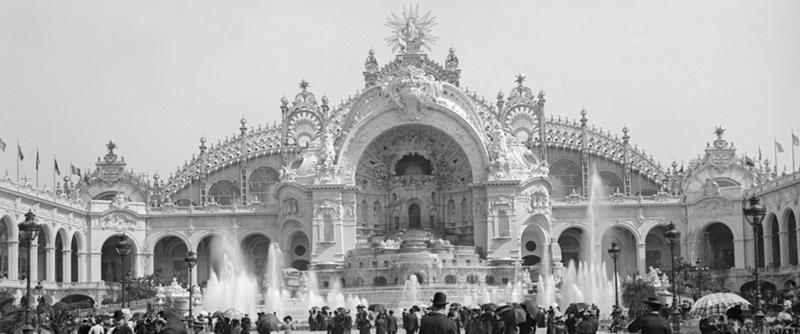 Palais électricité et château d'eau, exposition universelle de 1900