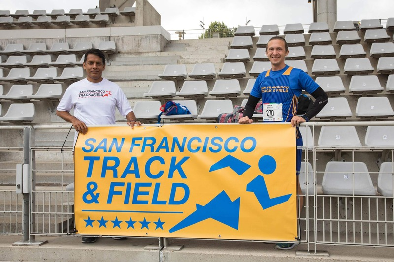 Gay Games au stade Charléty : les Américains du San Francisco Track and field