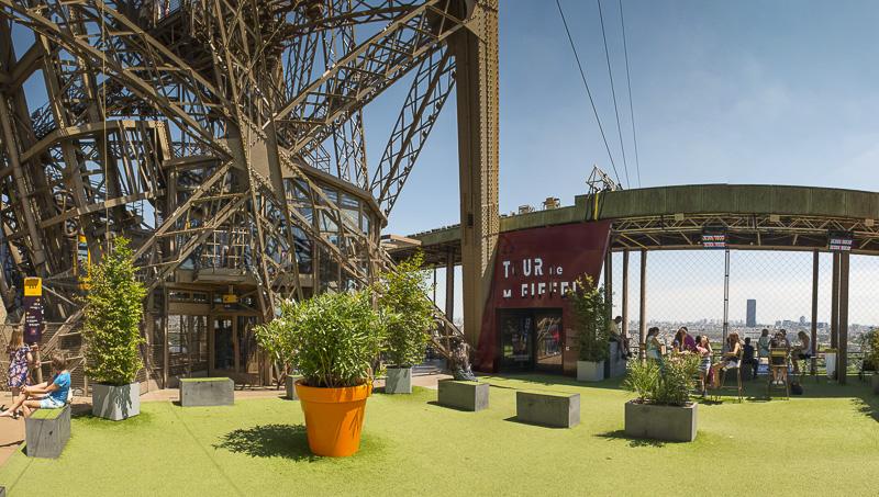 Dans les coulisses de la Tour Eiffel