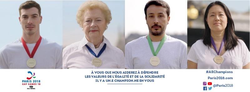 Paris 2018 Gay Games