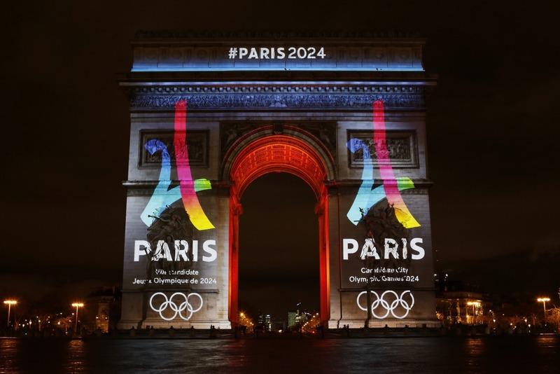 Dévoilement du logo de la candidature de Paris pour les JO2024