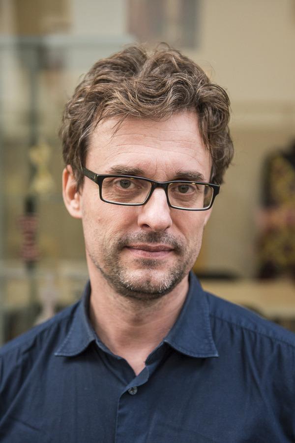 Luc Dognin, président de l'association des professionnels de la mode et du design de la Goutte d'Or