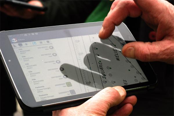 arbre tablette tactile