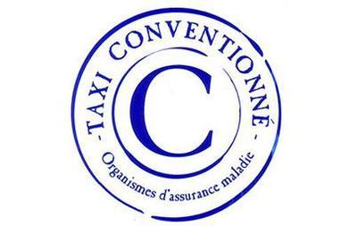 Visuel du logo des taxis conventionnés