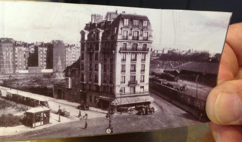 Le premier immeuble de la Place de Rungis, où se trouve l'actuel Dôme de Rungis