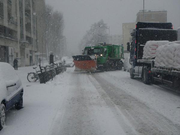 Lame neige DPE