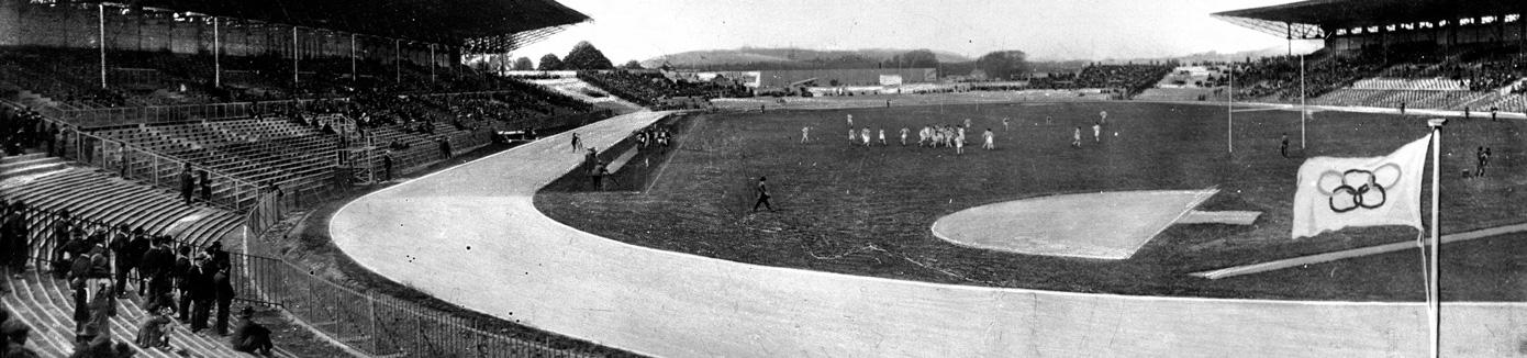 VIIIème Olympiade de Paris. Stade de Colombes (Hauts-de-Seine), 1924.