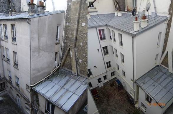 Observatoire de la prévention de la dégradation des immeubles d'habitation à Paris: copropriété sise 57, rue Doudeauville (18ème arrondissement)