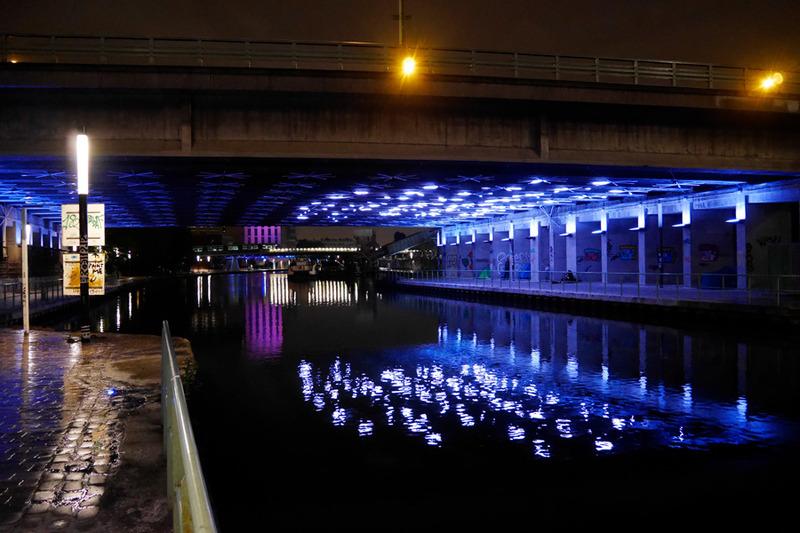 De Passage, oeuvre artistique sur le canal de l'Ourcq