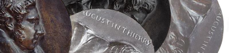 Augustin Thierry, médaille à son effigie