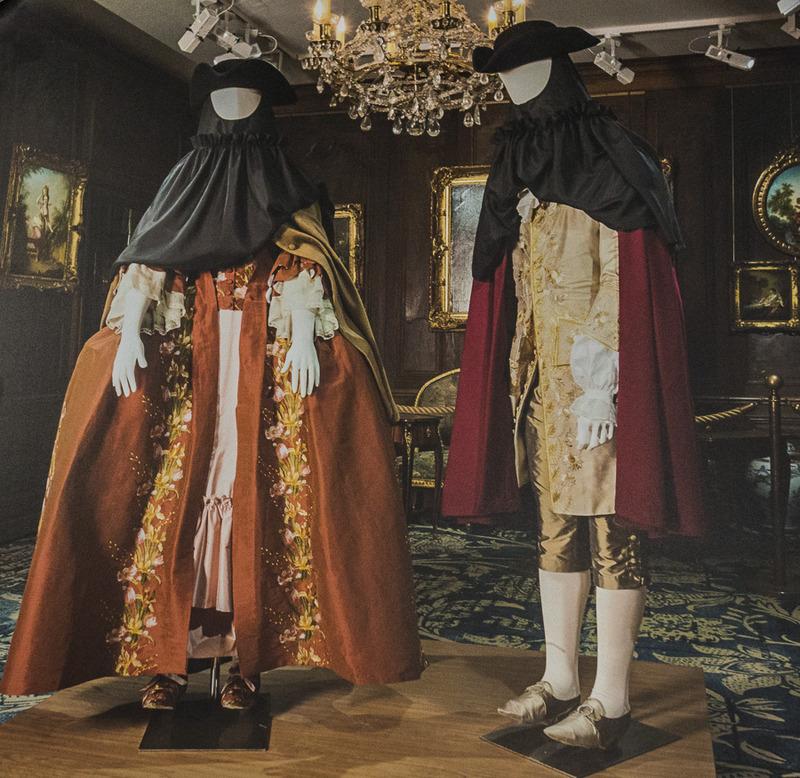 Costumes créés par la coopérative de la Goutte d'or pour Cognacq-Jay
