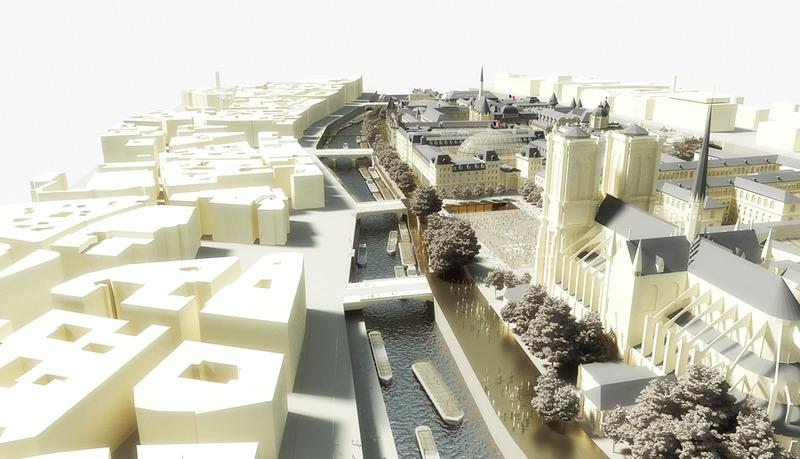 Projet de refonte de l'île de la Cité