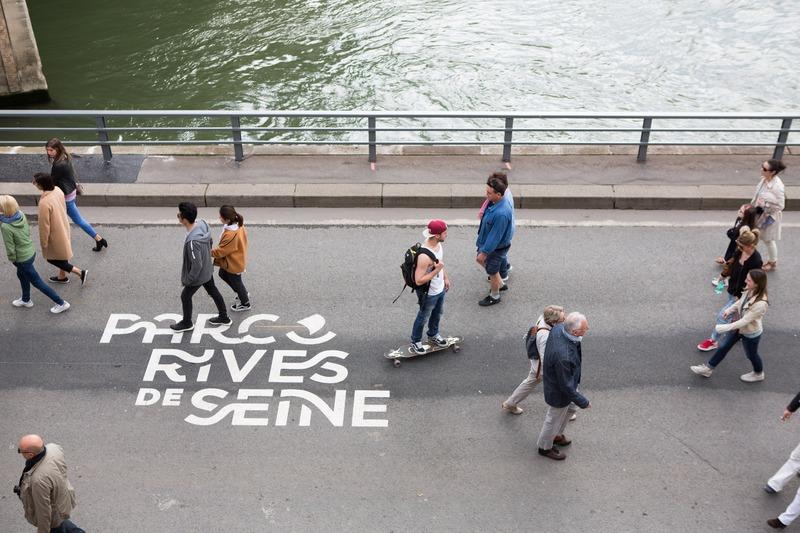Inauguration officielle des rives de Seine le Dimanche 2 avril 2017