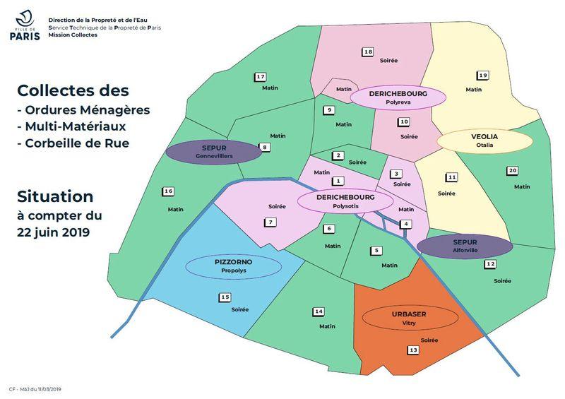 Calendrier Encombrants 77.La Collecte Des Dechets Menagers Ville De Paris