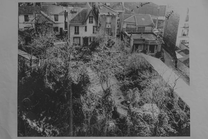 Les pavillons proches du bd Brune dans les années 1950