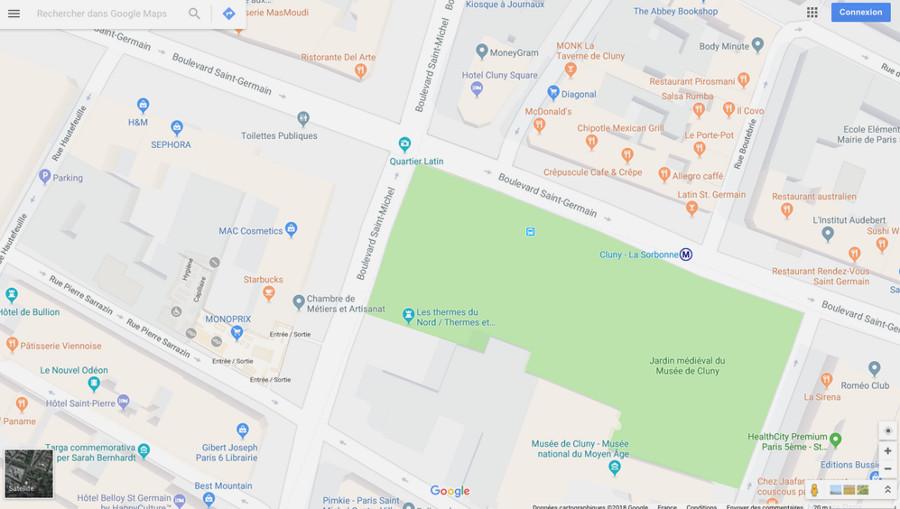 périmètre opération « Le Printemps de Saint Germain ». 2019