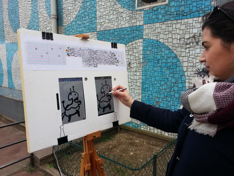 Fresque participative à la porte de Vanves