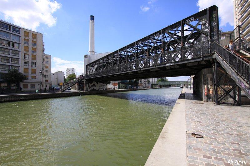 Gares et Patrimoine Canal de l'Ourcq 19ème